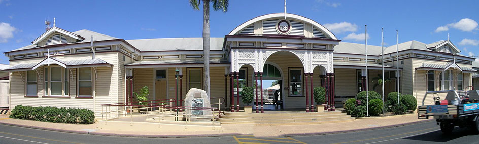 Emerald Historic Railway Station, just minutes from Emerald Motel Apartments